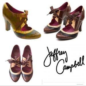 "Jeffrey Campbell ""Tomba"" Wingtip Oxford Heels"